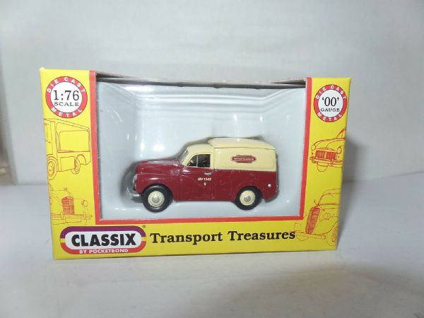 Classix EM76630 1/76 OO Morris Minor 1000 Van British Railways Mv1342